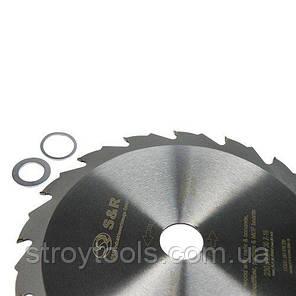 Диск пильный S&R Meister Power Cut 230x30(20/25,4)x2,8 мм, фото 2