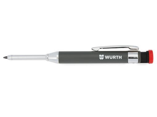 Карандаш цанговый для разметки В комплекте с 8-ю грифелями Wurth