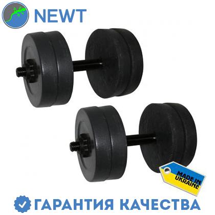 Гантели наборные Newt Rock 2 шт по 10 кг, фото 2