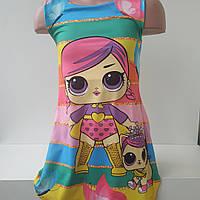 """Платье для девочек с """"LOL"""". """"MIX STAR"""" на 2-5 лет, фото 1"""
