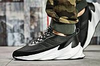 Кроссовки мужские Adidas Sharks, черные (15602) размеры в наличии ► [  41 44  ]