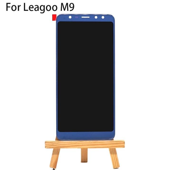 LCD екран з Тачскріном для Leagoo M9 Синій