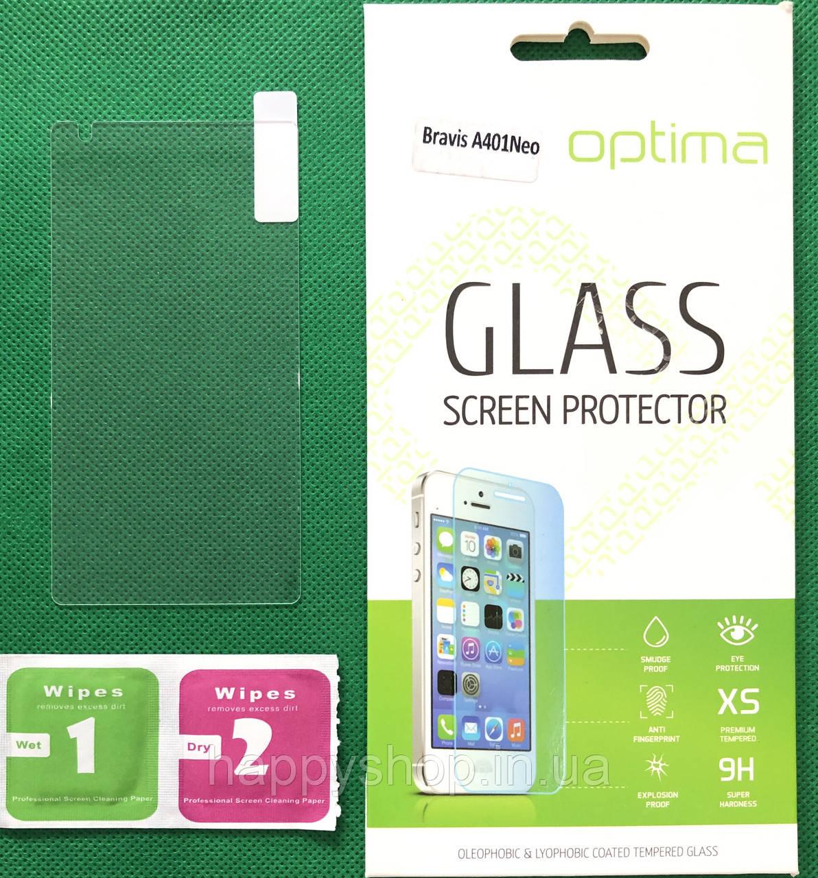 Защитное стекло для Bravis A401 Neo