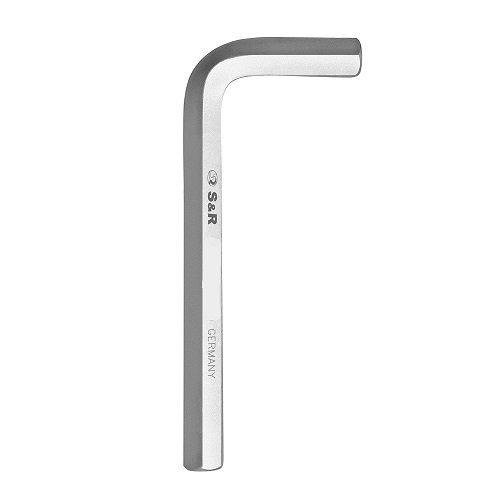 Ключ шестигранный HX 19,0 мм 180 х 70 мм S&R (165180190)