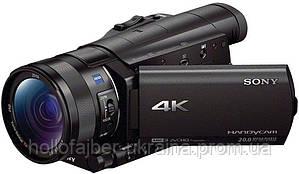 Цифровая видеокамера 4K Flash Sony Handycam FDR-AX100 Black (FDRAX100EB.CEE)