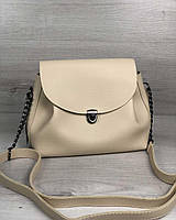 Молодежная сумка Софи бежевого цвета, фото 1