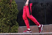 Спортивные штаны LC - Jet красно-черные, фото 1