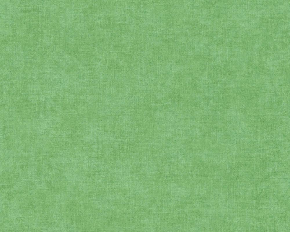 Обои однотонные ярко зеленые 367212
