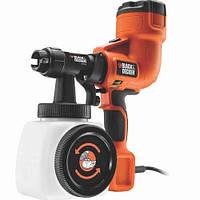 Краскопульт BLACK+DECKER для точной покраски 400 Вт, емкость 1180 мл, система регулировки, покраска, шт