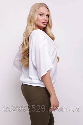 Фламинго блуза Мартина-БП к/р принт, фото 2