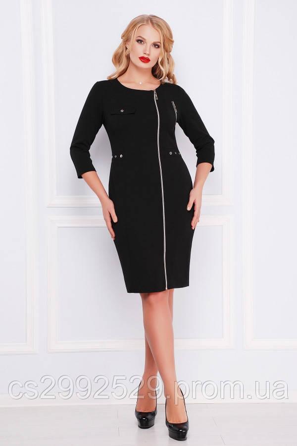Платье Арина-Б д/р черный