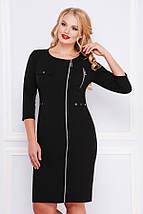 Платье Арина-Б д/р черный, фото 2
