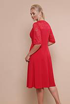 Платье Ида-Б к/р красный, фото 3