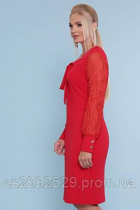 Платье Нелли-Б д/р красный, фото 2