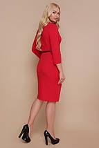 Платье Элария-Б д/р красный, фото 2