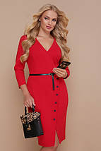 Платье Элария-Б д/р красный, фото 3
