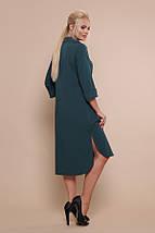 Платье-рубашка Власта-Б 3/4 изумруд, фото 3