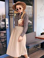 Стильная юбка Плиссе, фото 1