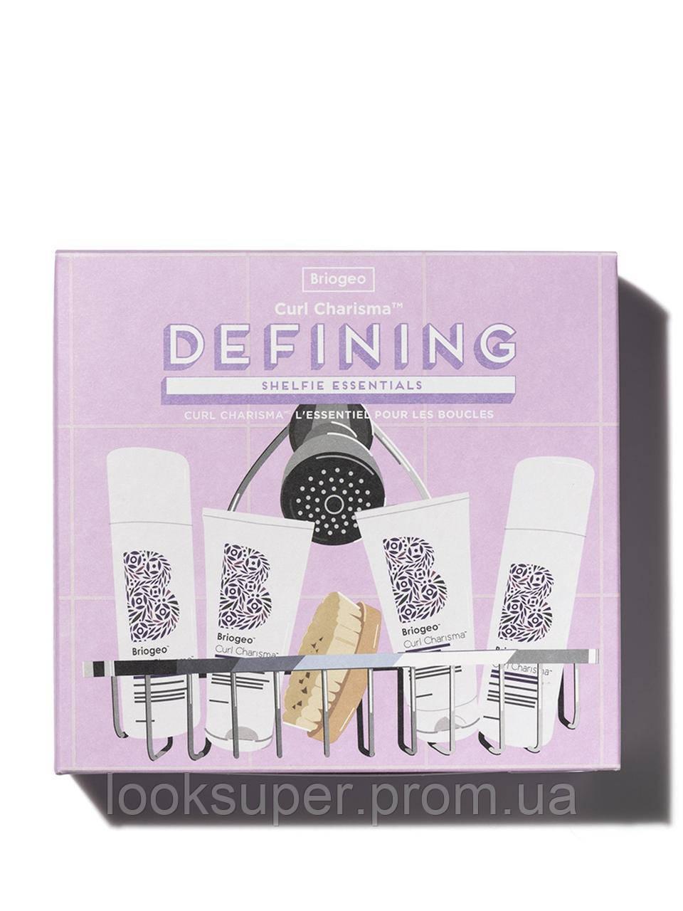 Набор для ухода за волосами и кожей головы  Briogeo defining shelfie essentials kit