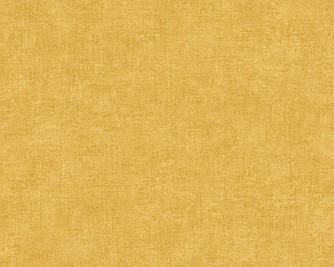 Обои однотонные горчичного цвета 367213
