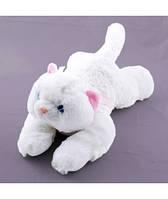 Мягкая игрушка озвученная Кот белый пушистый №4, отличные подарки детям и девушкам , отличный подарок