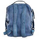 Рюкзак женский YES Weekend YW20 из экокожи 35*26*13,5 см синий (555846), фото 4