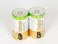 Батарейка алкалиновая GP Super Alkaline R20D (цена за 2 шт в спайке)