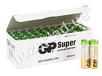 Батарейка алкалиновая GP Super Alkaline, 1.5V, AA, LR6 (цена за спайку 2шт)