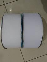 Текстильная застежка (липучка) цвет белый  S-501  100мм (боб 25м)  Veritas