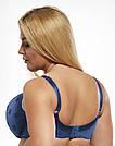 Бюстгальтер мягкий Kris Line (Крис Лайн) Fortuna синий, фото 2