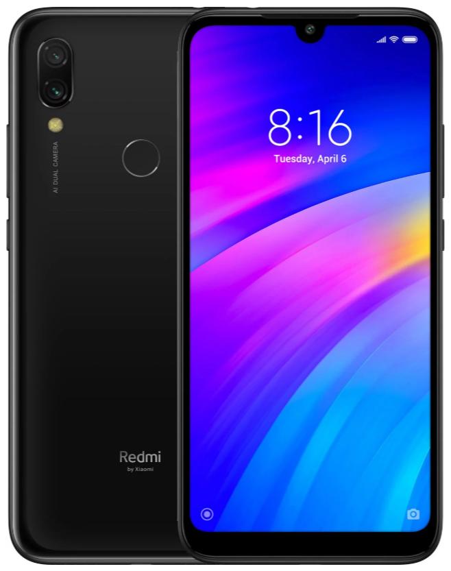 "Xiaomi Redmi 7 Black 2/16 Gb, 6.26"", Snapdragon 632, 3G, 4G (Global)"