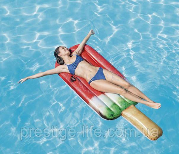 """Матрац для плавання Intex """"Кавунове морозиво"""" (191х76см) 58751EU"""