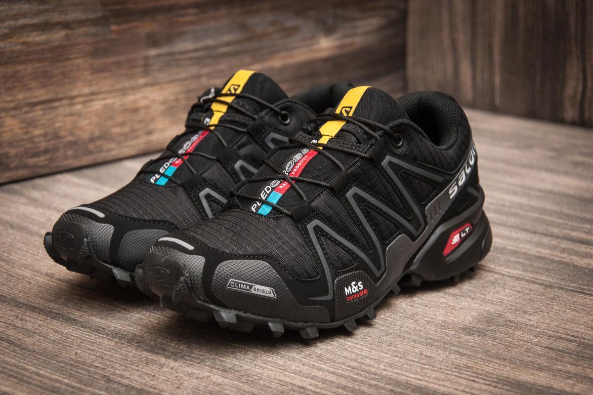 c3a799d93 Кроссовки мужские Salomon Speedcross 3, черные (11222) размеры в наличии ▻  [ 46 (последняя пара) ]