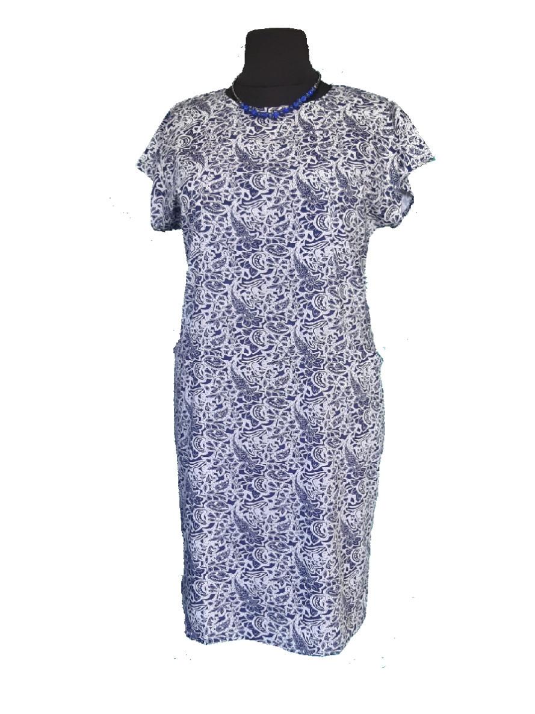 d184bf5346d4578 Летнее Джинсовое Платье (54,56,58,60) — в Категории