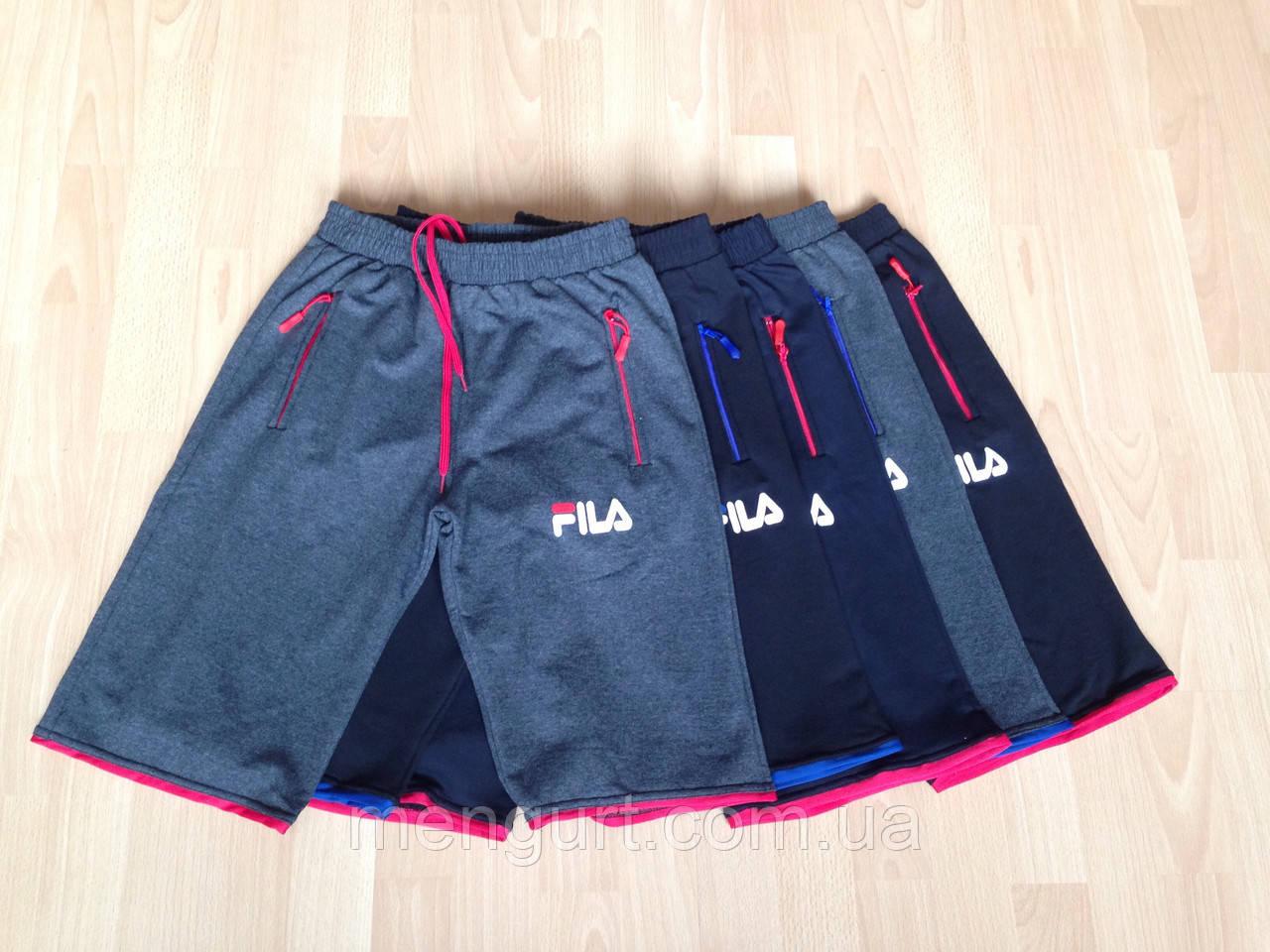 Мужские трикотажные шорты fila reebok adidas Украина