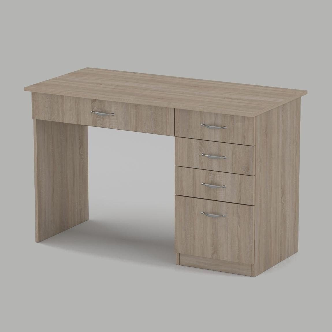 Письменный стол Компанит Студент 1155х550х736 мм дуб сонома