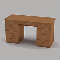 Письменный стол Компанит Учитель-3 1400х600х736 мм бук