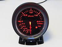 Defi 60257 DF+FQT/CK Давление турбины, с отсечкой, стрелочный диам.60мм.черный в корпусе