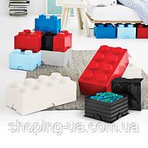 Восьми точечный голубой контейнер для хранения Lego 40041736, фото 2