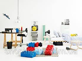 Восьми точечный голубой контейнер для хранения Lego 40041736, фото 3
