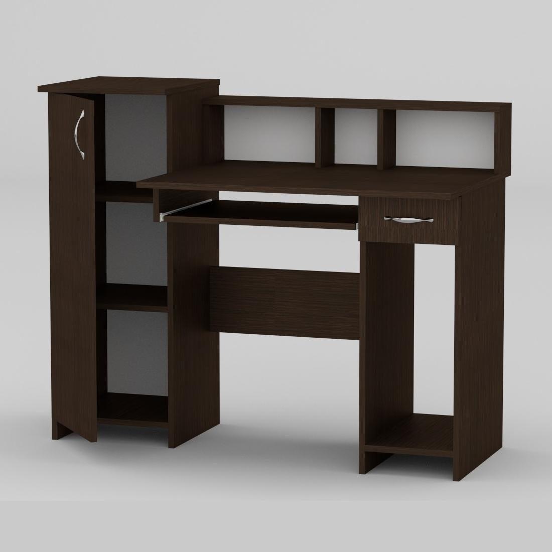 Компьютерный стол Компанит Пи-Пи-2 1175х600х736 мм венге