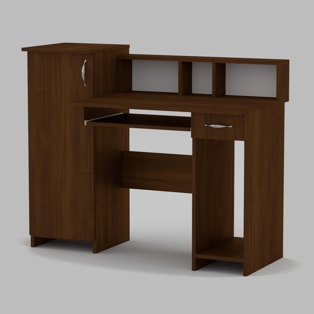 Компьютерный стол Компанит Пи-Пи-2 1175х600х736 мм орех