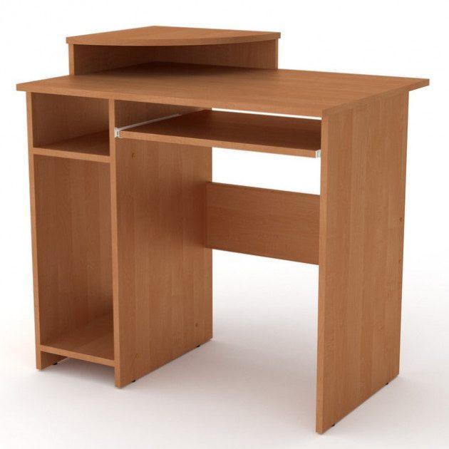 Комп'ютерний стіл Компаніт СКМ-1 820х600х736 мм вільха