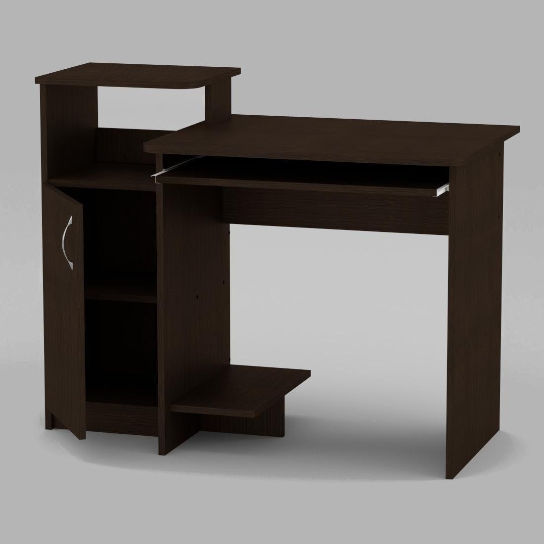 Компьютерный стол Компанит СКМ-2 1102х600х750 мм венге