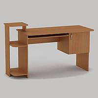 Компьютерный стол Компанит СКМ-3 1418х600х751 мм бук