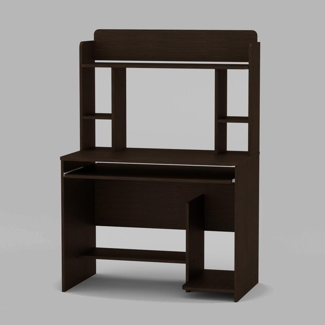 Компьютерный стол Компанит СКМ-6 1000х598х756 мм венге