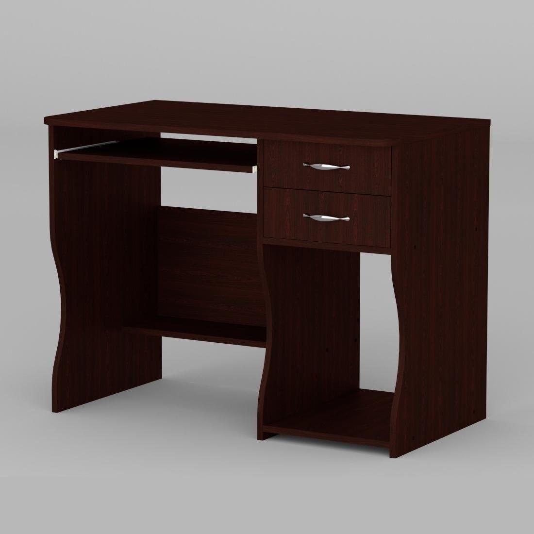 Компьютерный стол Компанит СКМ-7 1000х550х766 мм венге