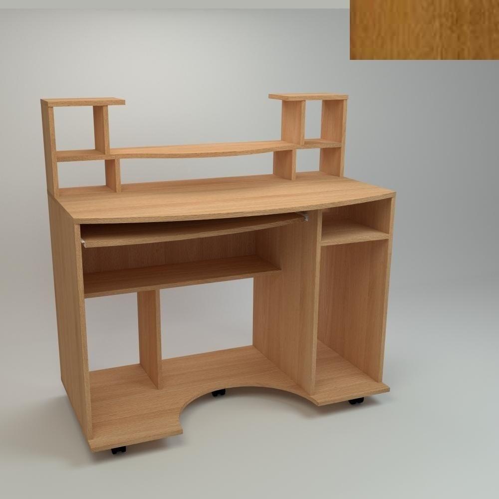Компьютерный стол Компанит Комфорт-1 1100х600х786 мм орех