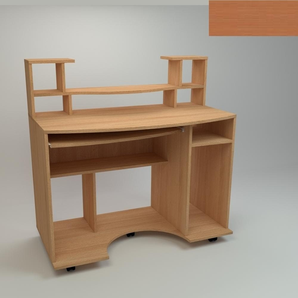 Компьютерный стол Компанит Комфорт-1 1100х600х786 мм яблоня