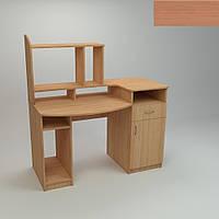 Компьютерный стол Компанит Комфорт-2 1286х700х756 мм ольха